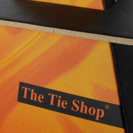 The Tie Shop Packaging