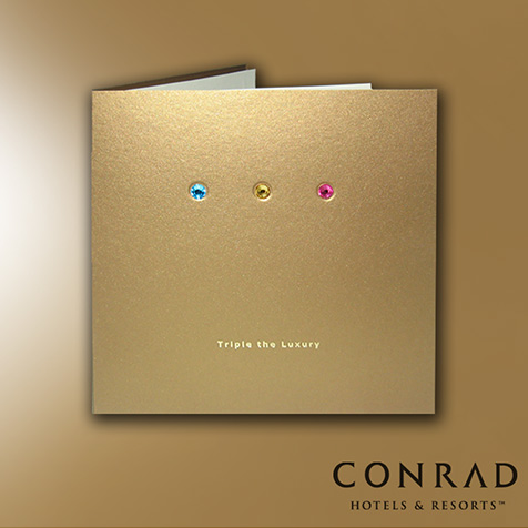 Conrad Cairo Launch Invitation for 3 New Outlets