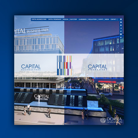 Capital Business Park Website